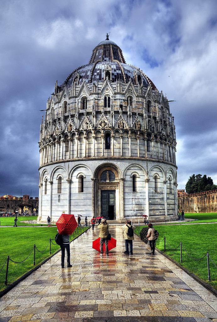 italien - pisa - baptisterium