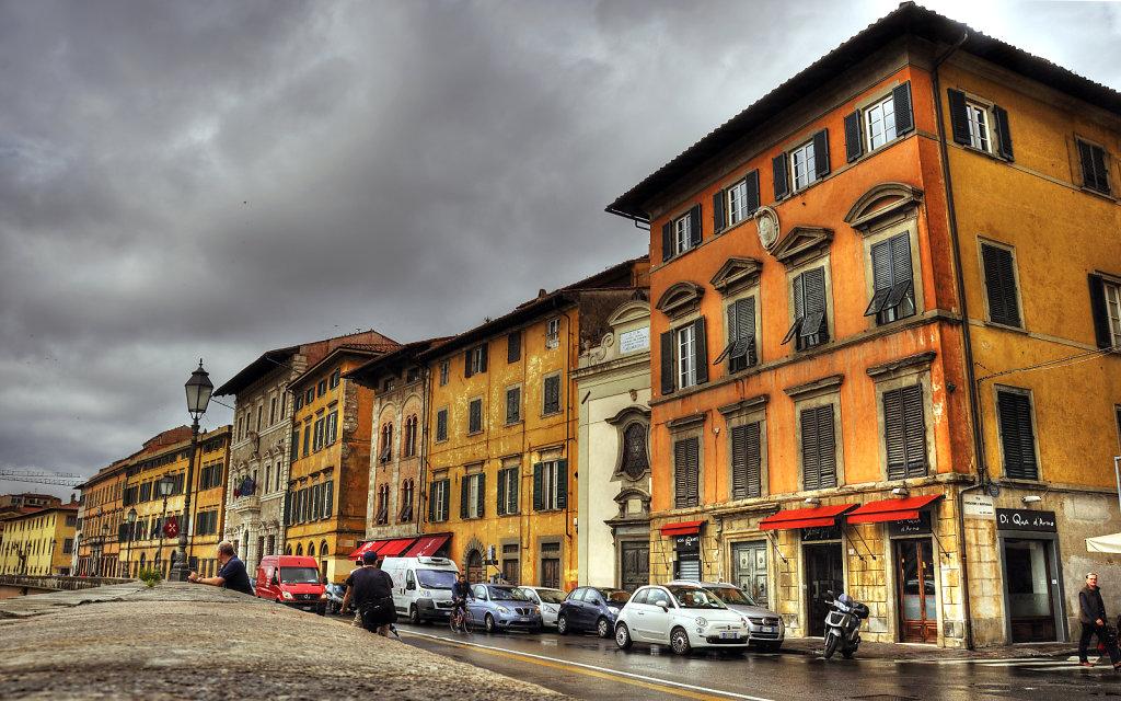 italien - pisa -  lungarno pancinotti