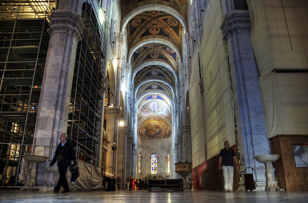 italien- lucca - der dom  /  cattedrale di san martino - im inne