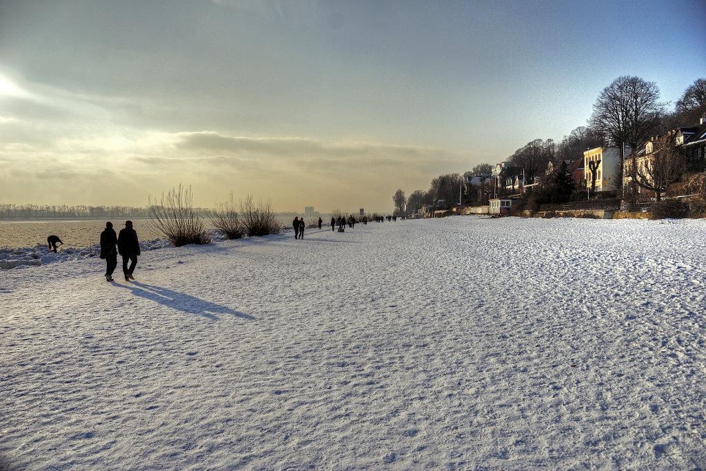 elbspaziergang (22) - wintersonne