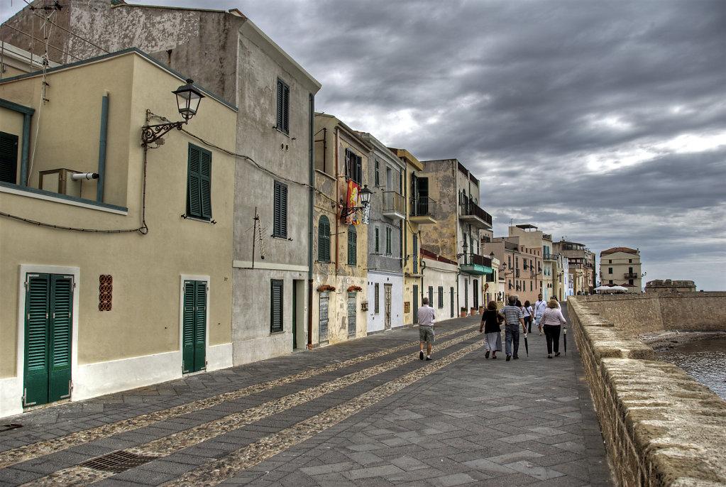 italien - sardinien - alghero -  uferpromenade teil 2
