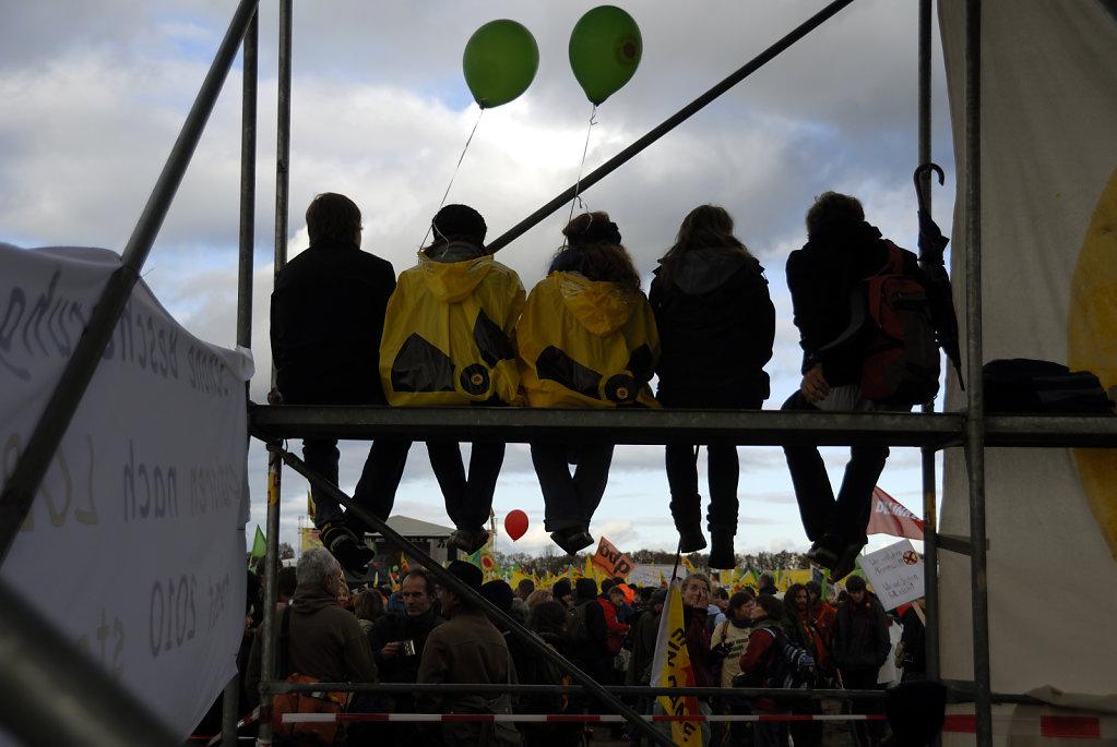 castor november 2010 –   die kundgebung (09)