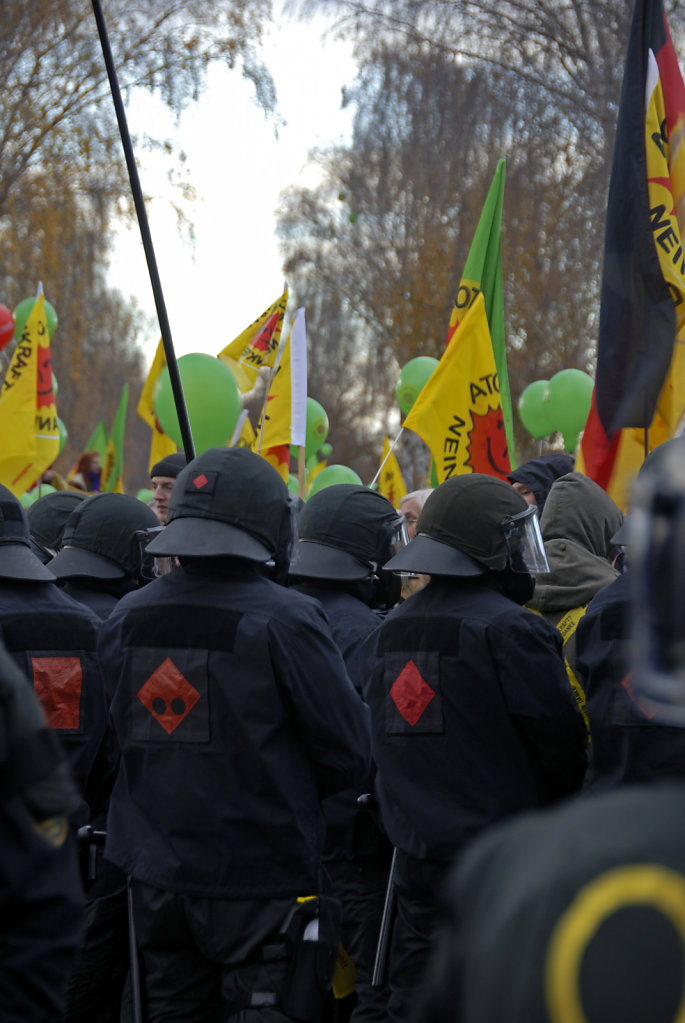 castor november 2010 –  schwarzer block