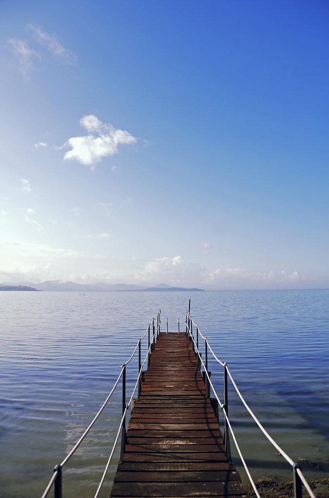 lago trasimeno - am ostufer - einladung