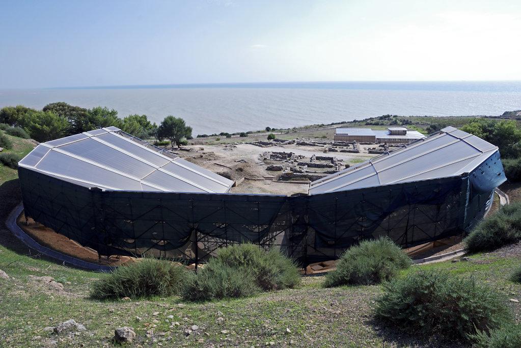 sizilien (45) - eraclea minoa / herakleia minoa  - das amphithea