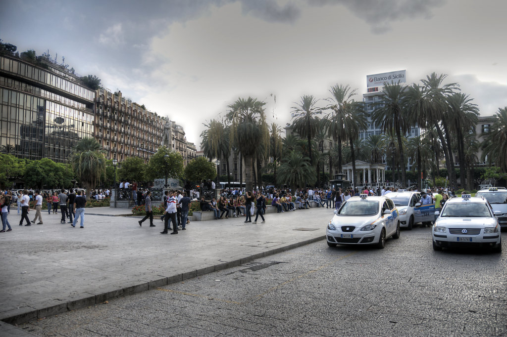 sizilien (67) - palermo – piazza castelnuovo