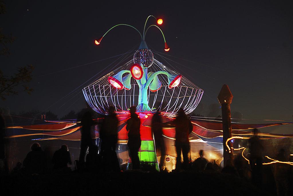 fusion festival 2008 nachts  (27) – turmbühne teil 4
