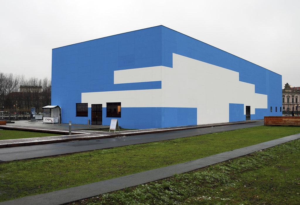 berlin mitte - temporäre kunsthalle berlin teil 3