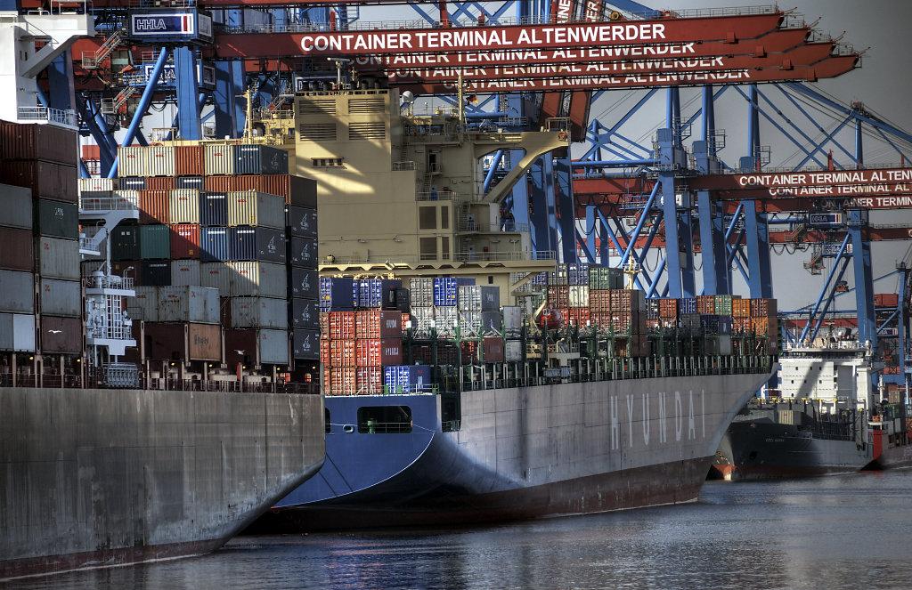 hamburg hafen - (111) - containerterminal altenwerder teil 2
