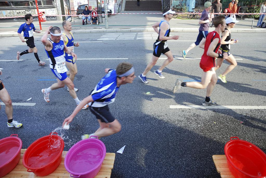 hamburg marathon 2009 – kurze erfrischung