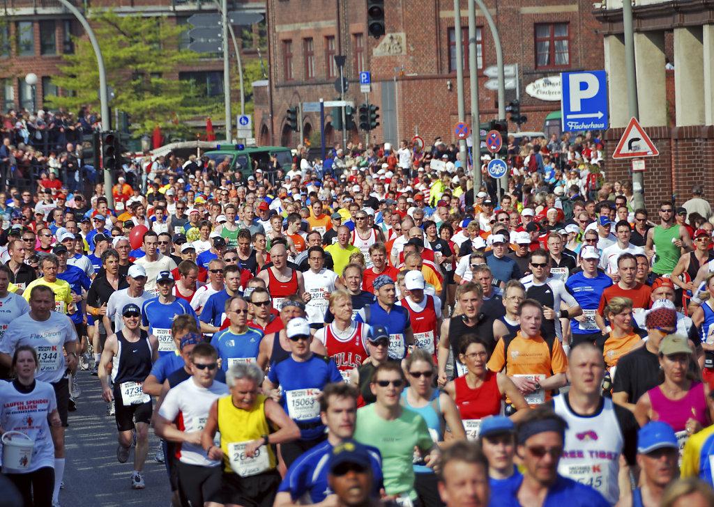 hamburg marathon 2009 – das hauptfeld