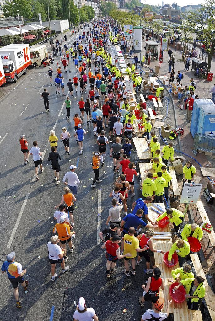 hamburg marathon 2009 – versorgungs-stützpunkt teil 2