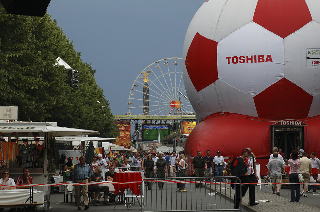 fußball wm 2006 - fanmeile