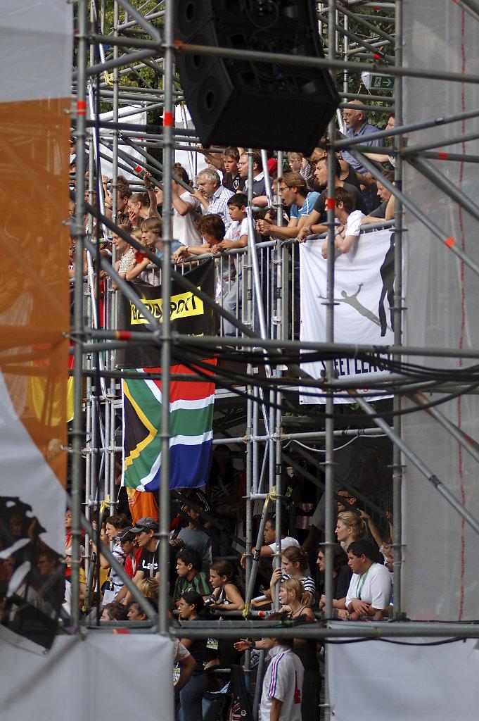 Fußball WM 2006 Begleitprogramm - blick ins stadium