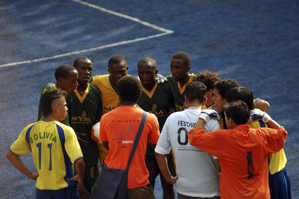 Fußball WM 2006 Begleitprogramm - vor dem spiel