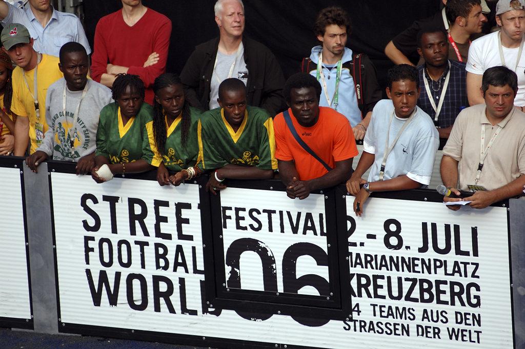Fußball WM 2006 Begleitprogramm - mitfiebern