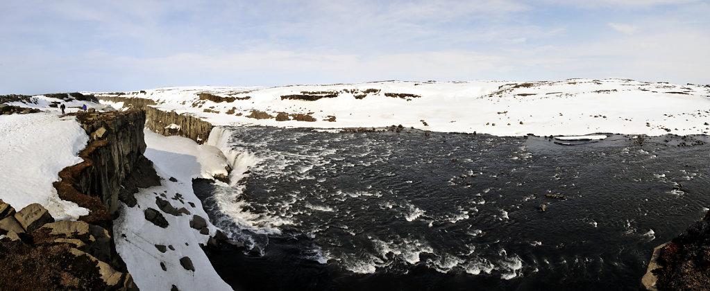 island – dettifoss (06) – teilpanorama  nummer 3