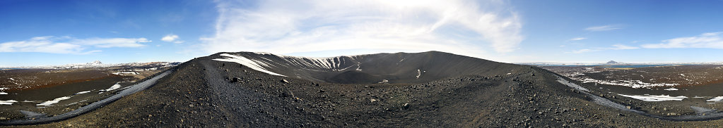 island – hverfjall  (06) – 360° panorama