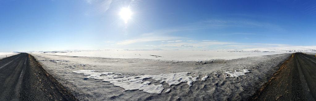 island – auf dem weg nach akureyri  (01) – teilpanorama 180