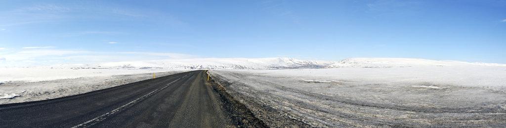 island – auf dem weg nach akureyri  (02) - teilpanorama