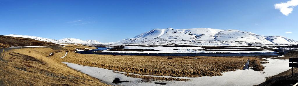 island – auf dem weg nach akureyri (05) teilpanorama nummer dr