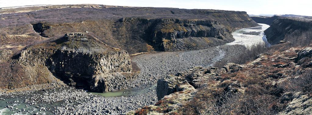 island – zwischen gullfoss und selfoss (02) – teilpanorama