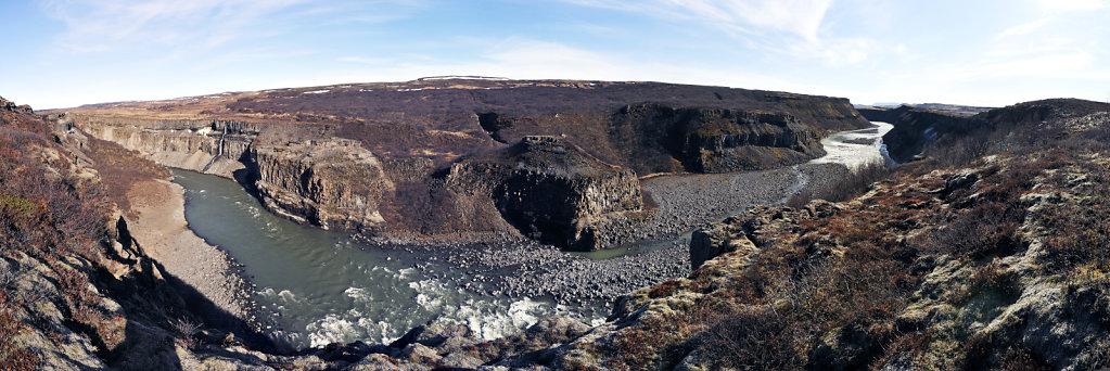 island – zwischen gullfoss und selfoss (03) – teilpanorama