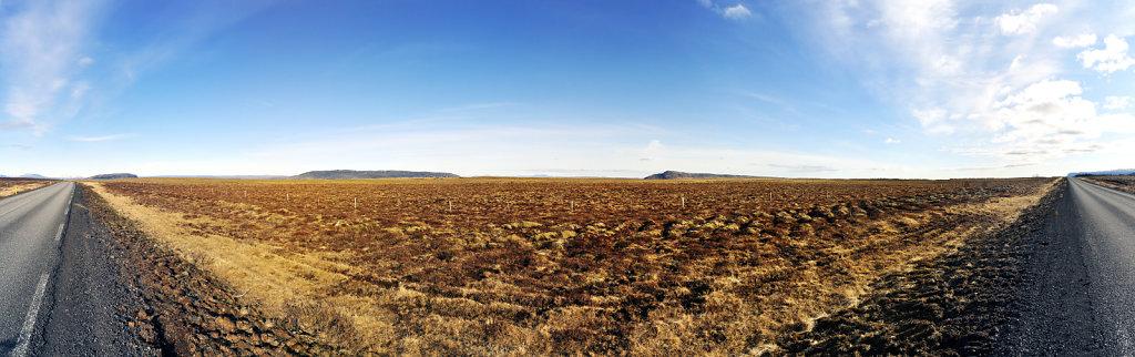 island – zwischen gullfoss und selfoss (04) – teilpanorama 1