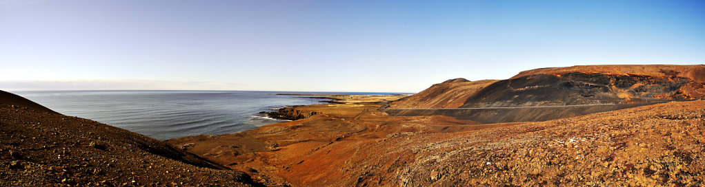 island – halbinsel reykjanes (05) – teilpanorama