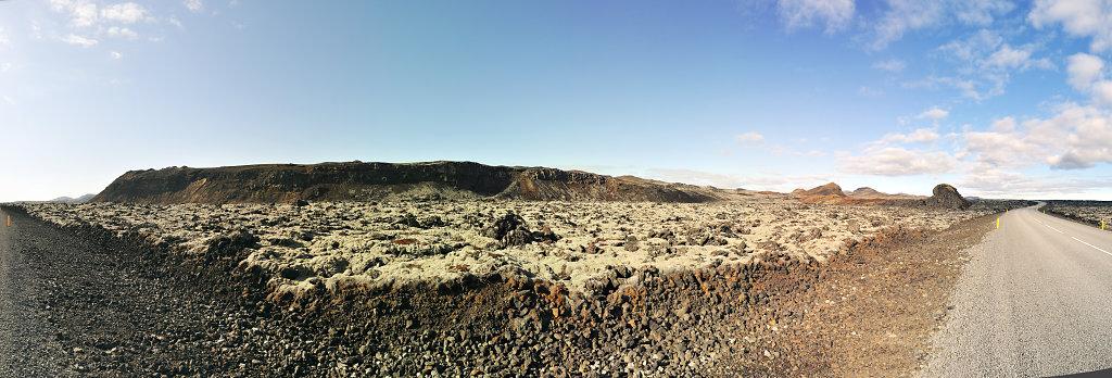 island – halbinsel reykjanes (15) – teilpanorama nummer vier