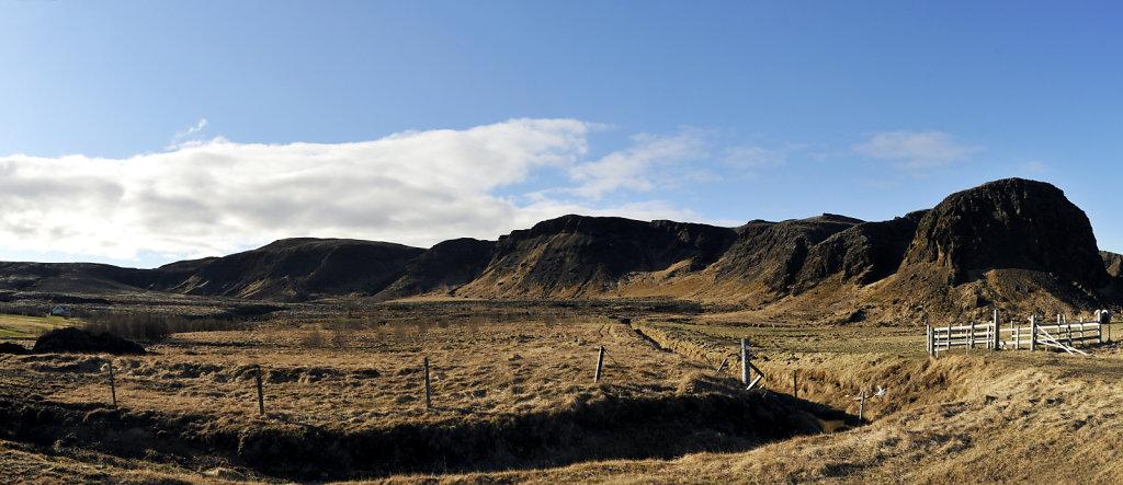 island – halbinsel reykjanes (16) – teilpanorama nummer fün