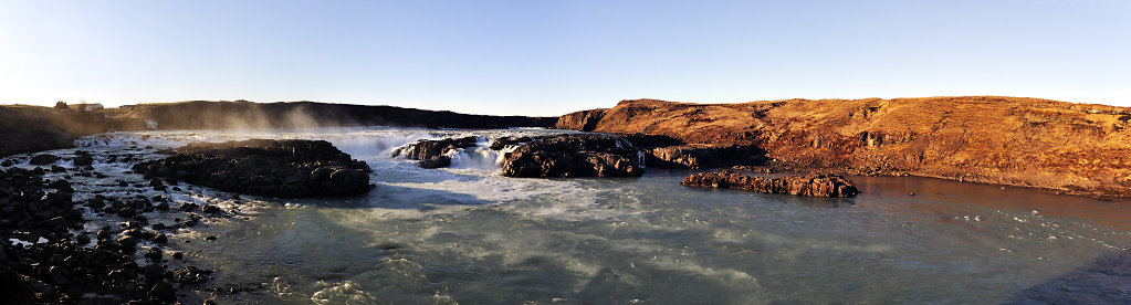island – urridafoss (06) – teilpanorama