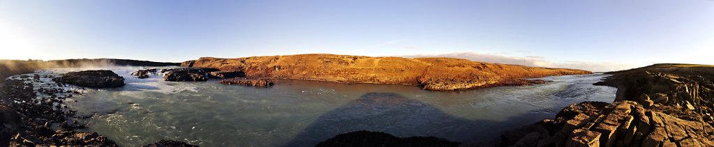 island – urridafoss (07) – teilpanorama 180°