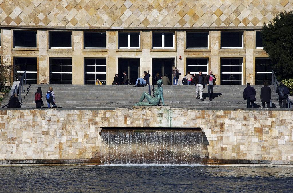 frankfurt - (35) -unicampus westend -in der sonne