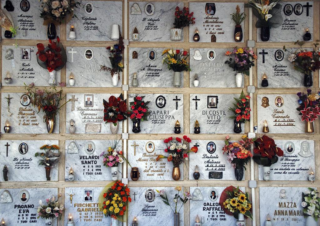 salent (71)   - friedhof / cimitero teil drei
