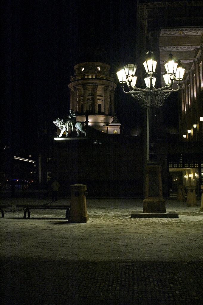 nachts am gendarmenmarkt