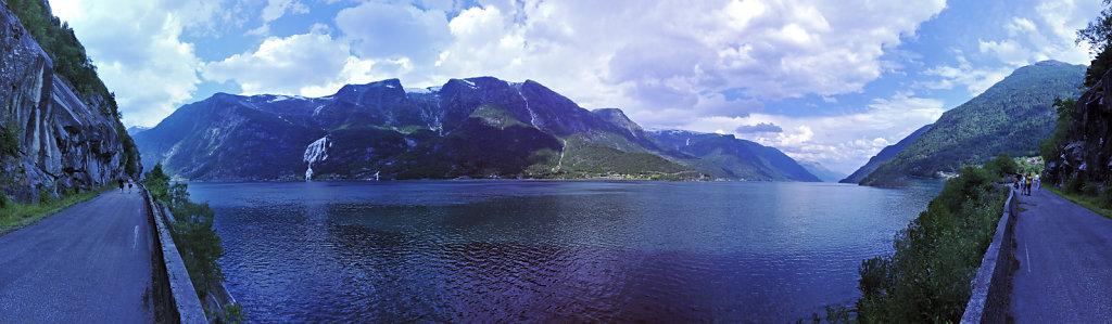 norwegen (45)  -  bei tysedal – teilpanorama 180°
