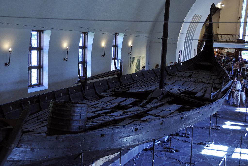 norwegen (166)  - oslo - wikingerschiffhaus museum
