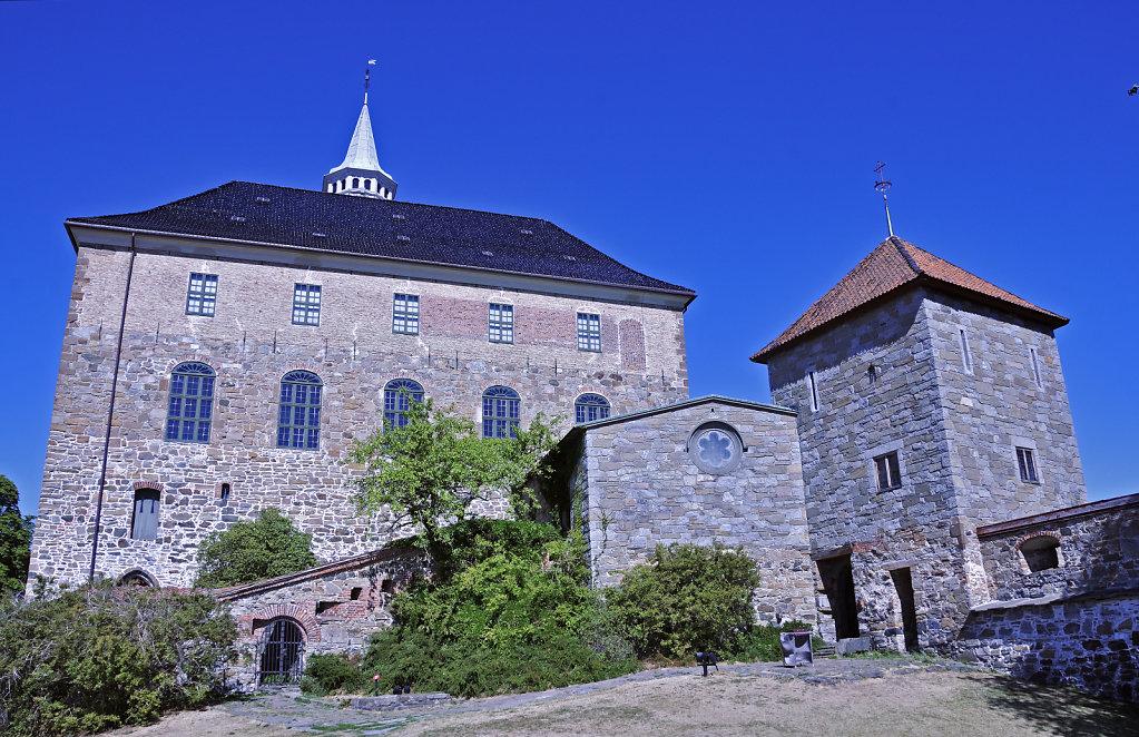 norwegen (160)  - oslo - festung akershus