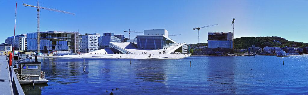 norwegen (145)  - oslo - oper – teilpanorama teil zwei