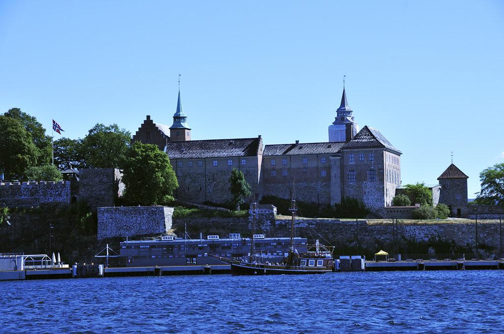 norwegen (141)  - oslofjord - festung akershus