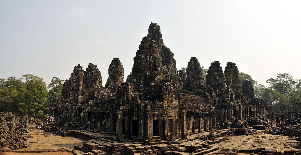 kambodscha - tempel von angkor - angkor thom - bayon (28) - teil
