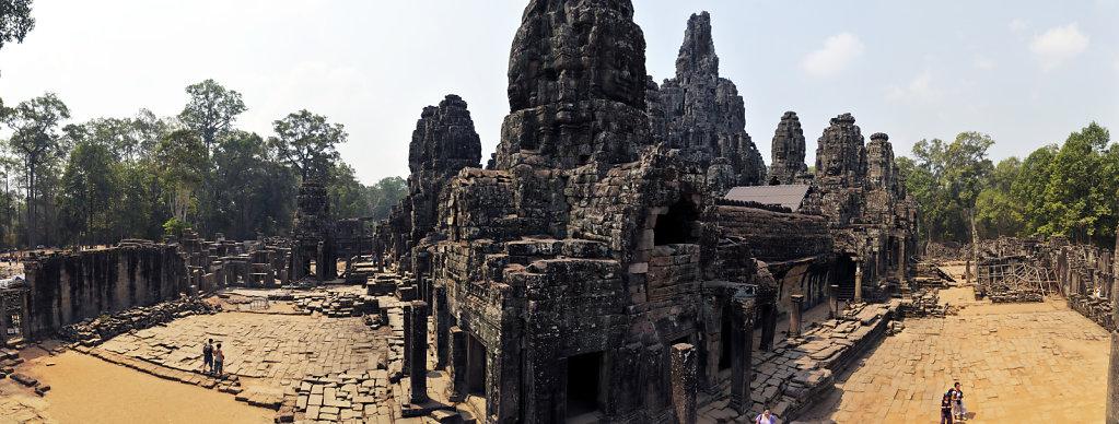 kambodscha - tempel von angkor - angkor thom - bayon (48) - teil