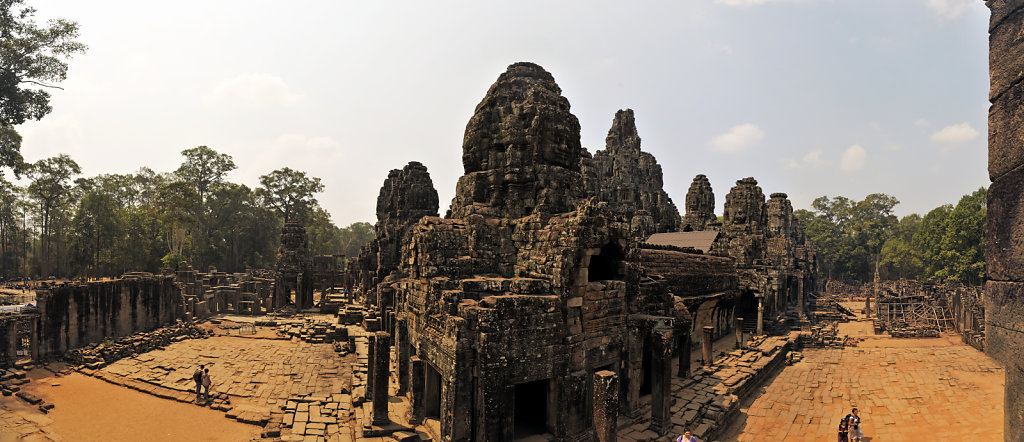 kambodscha - tempel von angkor - angkor thom - bayon (49) - teil