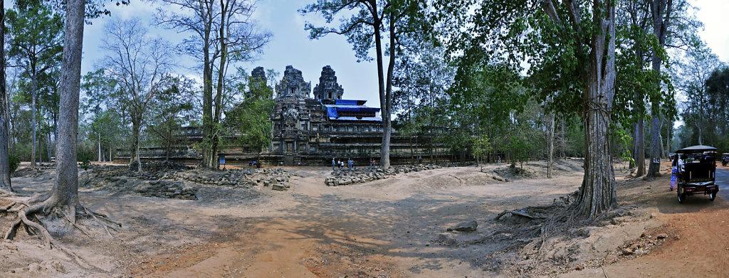 kambodscha - tempel von anghor - ta keo (02) - teilpanorama