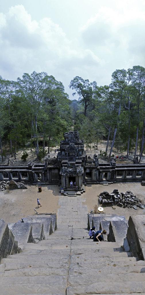 kambodscha - tempel von anghor - ta keo (14) - teilpanorama teil